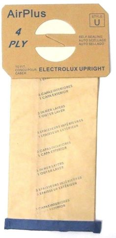 vacuum cleaner bags 18 bags for electrolux upright vacuum cleaner style u awesome products