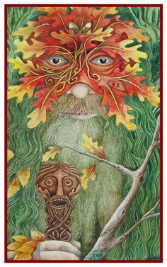 Lughnasadh Greetings Card by Christopher Bell