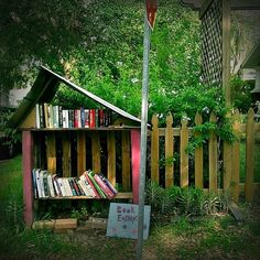 Street book exchange :)