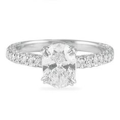 #LEPOZZI #LAURENB #LAURENBJEWELRY #1.04 #CT #OVAL #DIAMOND #ENGAGEMENTRING #ENGAGEMENT #RING IN #WHITE #GOLD #SETTING WITH SUBSTANTIAL #DIAMOND #BAND