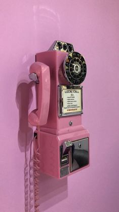Pink aesthetic, relationship tips, vintage pink, landline phone, wallpapers