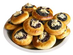 This kolacky dough recipe uses only three ingredients: cottage cheese, butter, and flour. There are no eggs or leavening agents in the dough. Pastry Recipes, Cookie Recipes, Kolaczki Cookies Recipe, Polish Kolaczki Recipe, Robot Boulanger, Filled Cookies, Czech Recipes, Slovak Recipes, Bread Machine Recipes