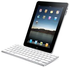 iPad w keyboard! I love my iPad.email, surfing the net, reading, apps.it's awesome! Best Ipad, Bluetooth Keyboard, Business Intelligence, Music Classroom, Future Classroom, Classroom Ideas, Tablets, Apple Ipad, Blackberry