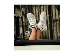 Love Birkenstock Thessaloniki Suede Leather / Textile in White (Birkenstock Shoe Removable Footbed )
