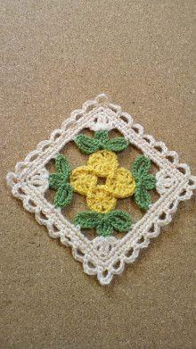 Grannies Crochet, Crochet Potholders, Crochet Blocks, Granny Square Crochet Pattern, Crochet Squares, Irish Crochet, Crochet Motif, Crochet Doilies, Crochet Flowers