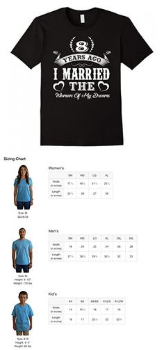 Mens 8th Wedding Anniversary Gifts. T shirts For Couples. 3XL Black