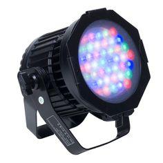 Elation ELAR 108 Par RGBW - 120W, 36 x 3W LED RGBW IP 65 High Power Par.