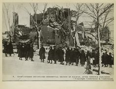 Halifax Explosion Nova Scotia Canada 1917 About 2000 people killed Halifax Explosion, The Great Fire, Atlantic Canada, Canadian History, O Canada, Pot Of Gold, Prince Edward Island, New Brunswick, Natural Disasters