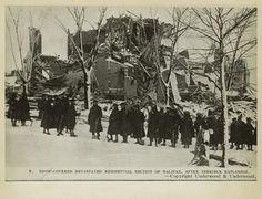 Halifax Explosion Nova Scotia Canada 1917  About 2000 people killed