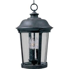 Maxim Lighting 3028 Dover DC - Three Light Outdoor Hanging Lantern