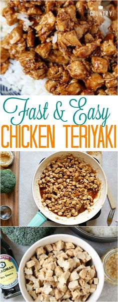 Fast and Easy Chicken Teriyaki Recipe from The Country Cook
