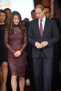 This is the first time that Kate has opted for the Italian label - and the design duo have long hoped to dress the royal style icon