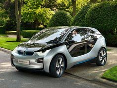 EARLY 2013: BMW i3 Electric City Car. My new car pick! After Wil gets his Charger though, lol. I can't wait!! :)