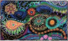 Carolyn is one of my best friends on flickr. She has a great eye for intricate details and I love her marker work