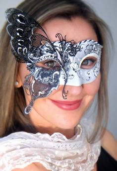 Butterfly Venetian Masquerade Mask from Mask Shop