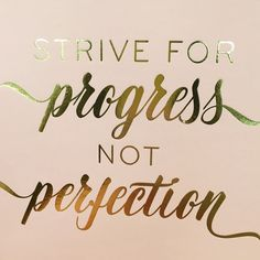 a great #mondaymantra to keep in mind for my fellow perfectionists & boss babes!