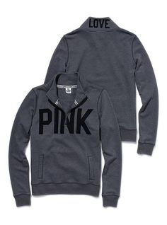 VS PINK sweatshirts. Warm and cozy without being bulky and unflattering!