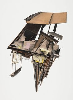 The online art portfolio of pittsburgh collage artist and sculptor Seth Clark. Architecture Collage, Architecture Design, Architecture Portfolio, Concept Architecture, A Level Art Sketchbook, Deconstructivism, Contemporary Barn, Art Paintings For Sale, Built Environment