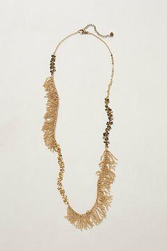 Saudades Fringe Necklace
