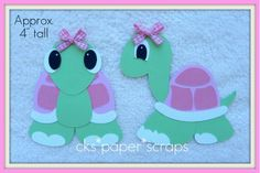 Turtle GIRLS Paper Piecing Set