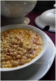 E' sempre tempo per i legumi ! Minestra di ceci con fregola    http://coolchicstyleconfidential.blogspot.it/2012/03/e-sempre-tempo-per-i-legumi-minestra-di.html