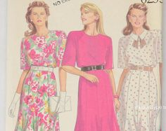 Check out New Look 6255 Pattern Misses' Dresses, Dress Sewing Pattern, Sizes 8-10-12-14-16-18  UNCUT on vintagecornerbazaar