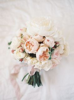 20 Bouquets for a Spring Garden Wedding Delicate Blush and Ivory Garden Rose Bouquet High Tea Wedding, Garden Wedding, Floral Wedding, Wedding Flowers, Spring Wedding, Cream Wedding, Purple Wedding, Pastel Bouquet, Peonies Bouquet