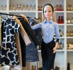 Que la semana de la moda....  #barbie