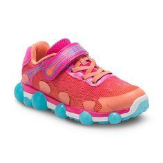 Stride Rite Leepz 2.0 Girls' Light-Up Sneakers, Girl's, Size: 11, Med Orange, Durable