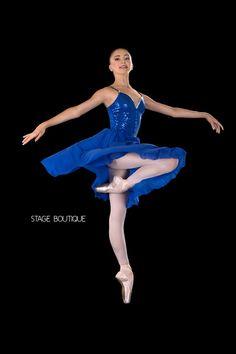 LYRICAL BALLET DRESS - MOOD, $59, Royal Blue Slow Modern Dance Costume, Stage Boutique, www.stageboutique.com
