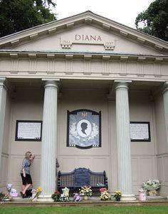 Princess Diana's grave More