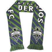 Seattle Sounders FC Zebra Scarf - Green