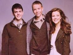 Skandar Keynes, Will Poulter and Georgie Henley four thirds of the cast of the Voyage of the Dawn Treader