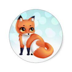 A cute kawaii cartoon anime red foxy fox Cute Kawaii cartoon fox bithday party by DiaSuuArtcreate an invite at Zazzle #fox #red #kawaii #cute #animal #cartoon #anime #kawai #foxy #customizable #yellow #yellow #eyes #blue #brokeh #kid #child #childsh #nature #animals