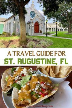 St Augustine Florida Restaurants, St Augustine Florida Beach, Saint Augustine Beach, Florida City, Key West Florida, Florida Vacation, Florida Beaches, Anniversary Ideas, 25th Anniversary