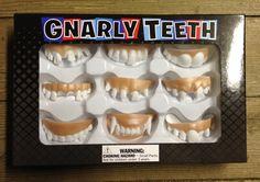 Zwischen neun verschiedenen Gnarly Teeth könnt ihr wählen, wenn ihr euer gruseligstes Lächeln zeigen wollt.