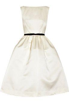 My ideal dress for a spring noon wedding... ~Jason Wu