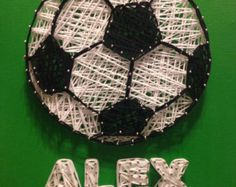 Soccer Ball String Art