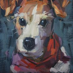 "Daily Paintworks - ""Katie"" - Original Fine Art for Sale - © Cathleen Rehfeld"
