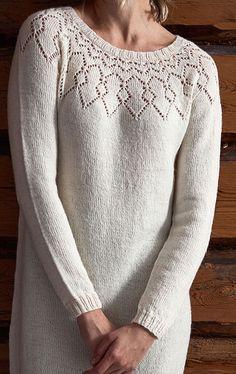 Naisen neulemekko Novita Venla | Novita knits Socks, Style Inspiration, Knitting, Scarfs, Blouse, Knits, Long Sleeve, Bikinis, Sleeves