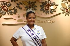 Joy Araujo, a pageant contestant, who was awaiting a transplant, received a new kidney on the same day she was scheduled to leave for the U. Pageant, Charleston, Joy, Crown, News, Corona, Being Happy, Crown Royal Bags, Crowns