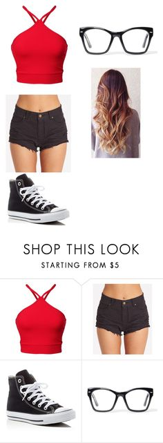 """Summer"" by lesley-danae-2003 on Polyvore featuring Billabong, Converse and Spitfire"
