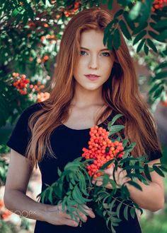 My redhead friend by Saulius Ke on 500px