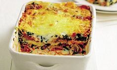 Mary Berry Vegetarian lasagne is part of Mary Berry Vegetarian Lasagne Daily Mail Online - Mary Berry's favourites with a modern twist Vegetarian Lasagne, Vegetable Lasagne, Vegetarian Cooking, Cooking Recipes, Veggie Lasagna, Cooking Ribs, Keto Lasagna, Spinach Lasagna, Spinach Dip