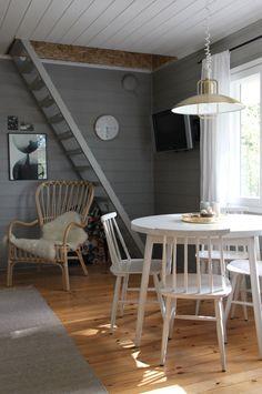 Minimalist Home Decor, Dream Rooms, Cozy House, Minimalism, Ikea, Loft, Dining Table, Cabin, Furniture