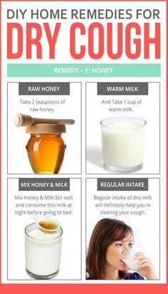 Honey Remedies für trockenen Husten – Health Tips – Gesundheitstipps Home Remedy For Cough, Natural Cough Remedies, Cold Home Remedies, Natural Health Remedies, Natural Cures, Herbal Remedies, Cough Remedies For Kids, Home Remedies, Vitamins