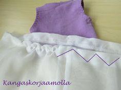 ompele poimutus mekkoon Fashion, Moda, Fashion Styles, Fashion Illustrations