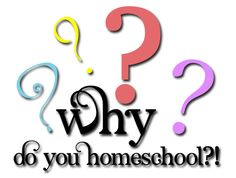 Top 5 reasons why I homeschool. Comment and tell me why YOU choose to homeschool!
