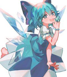 """静かにバテていく — Kane@ """"Touhou scribbles so far… """" 5 Anime, Anime Kawaii, Anime Chibi, Anime Art Girl, Manga Art, Pretty Art, Cute Art, Guache, Estilo Anime"""