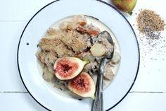 Chia porridge with Pear Cinnamon + vanilla : The Healthy Chef – Teresa Cutter Mmmmmm winter breakfasts Healthy Breakfast Choices, Paleo Breakfast, Breakfast Time, Detox Breakfast, Healthy Chef, Healthy Cooking, Healthy Eating, Eat For Energy, Raw Food Recipes